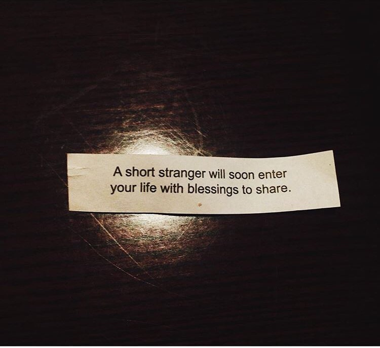 Weirdest fortune cookie ever...