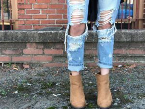 Forever 21 Tassel Faux Suede Boots