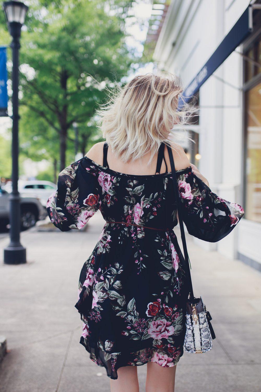 Safe Off-The-Shoulder Dress