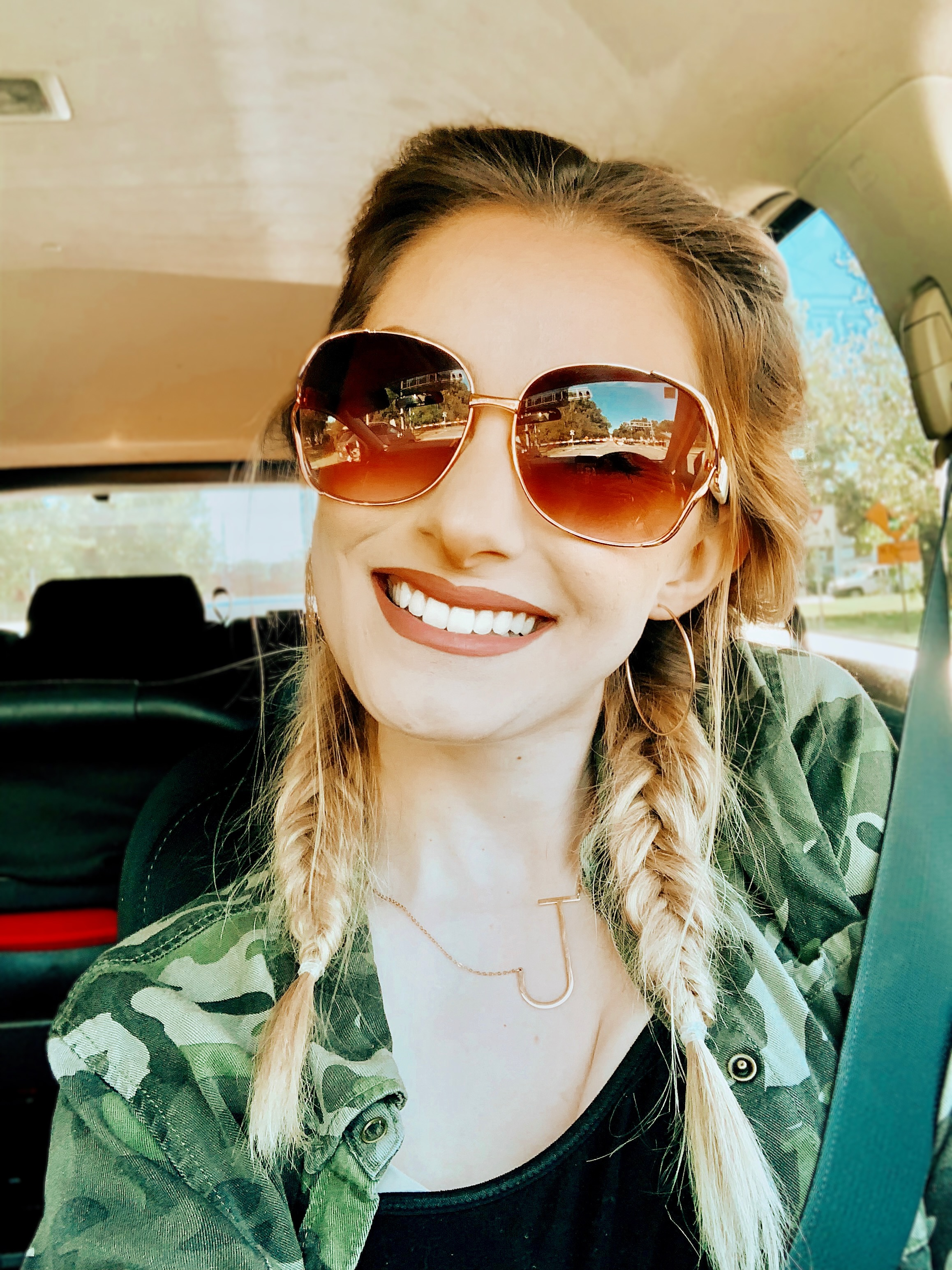 Fishtail pigtail braids and makeup inspiration | North Carolina Fashion & lifestyle blogger, Jessica Linn, sharing an Instagram post roundup on Linn Style.