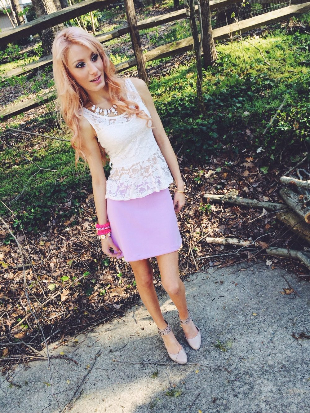 Pastel & Lace | Easter Outfit