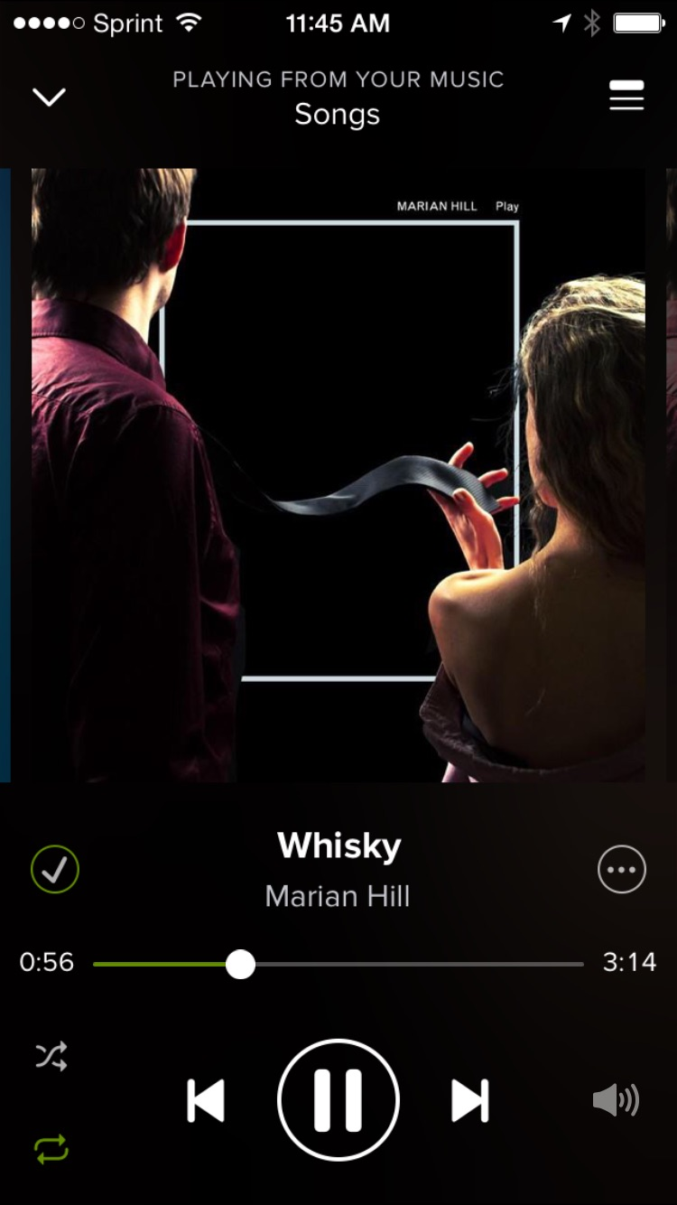 This is my current makeup song, and pretty much every song by Marian Hill...