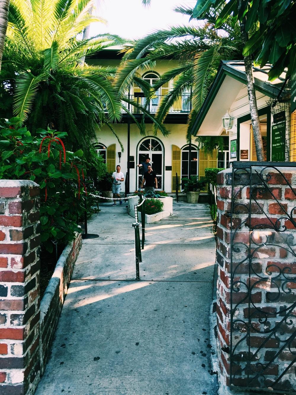 Earnest Hemingway's house