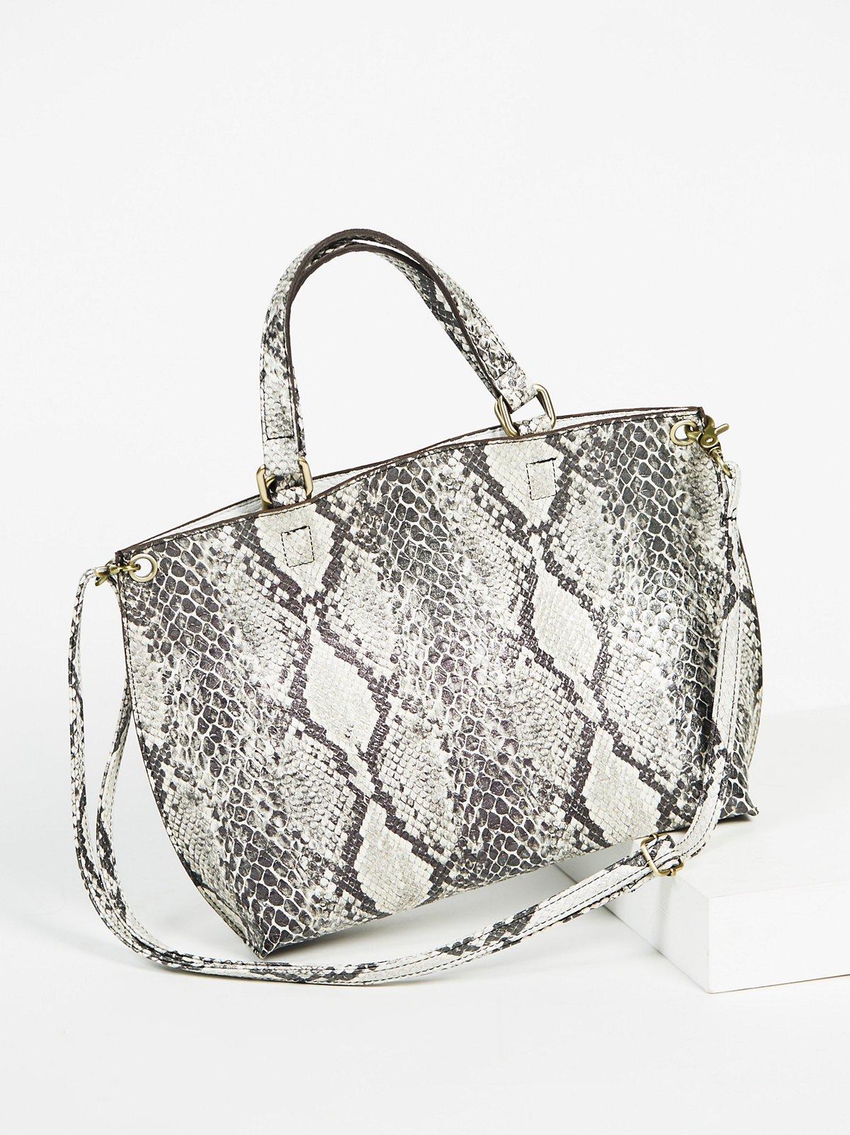Vegan Snake Skin Bag from Free People