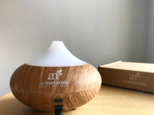 Art Naturals Top 8 Essential Oils and Oil Diffuser Review | All Natural eucalyptus, lemongrass, lavender, peppermint, frankincense, rosemary, sweet orange and tea tree oils.