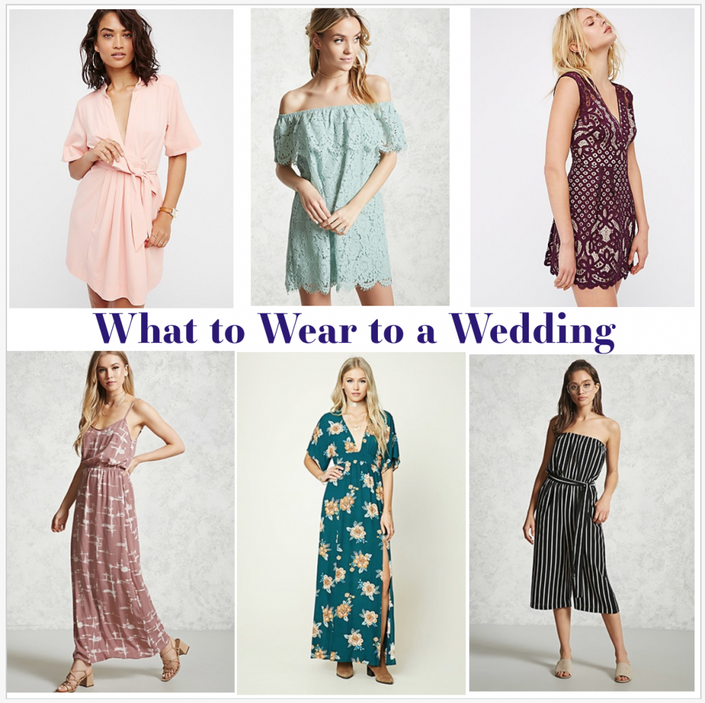 What To Wear To A Spring/Summer Wedding