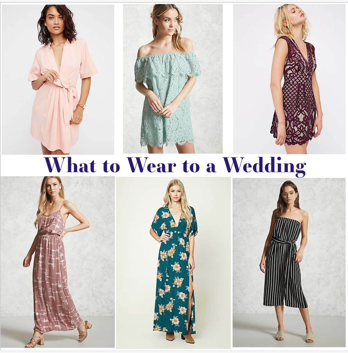 Fashion and lifestyle blogger Jessica Linn from Linn Style guide on what to wear to a spring and summer wedding