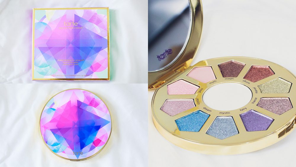 Tarte Make Believe in Yourself Eye and Cheek Pallet | Swatches + First Impression + Review