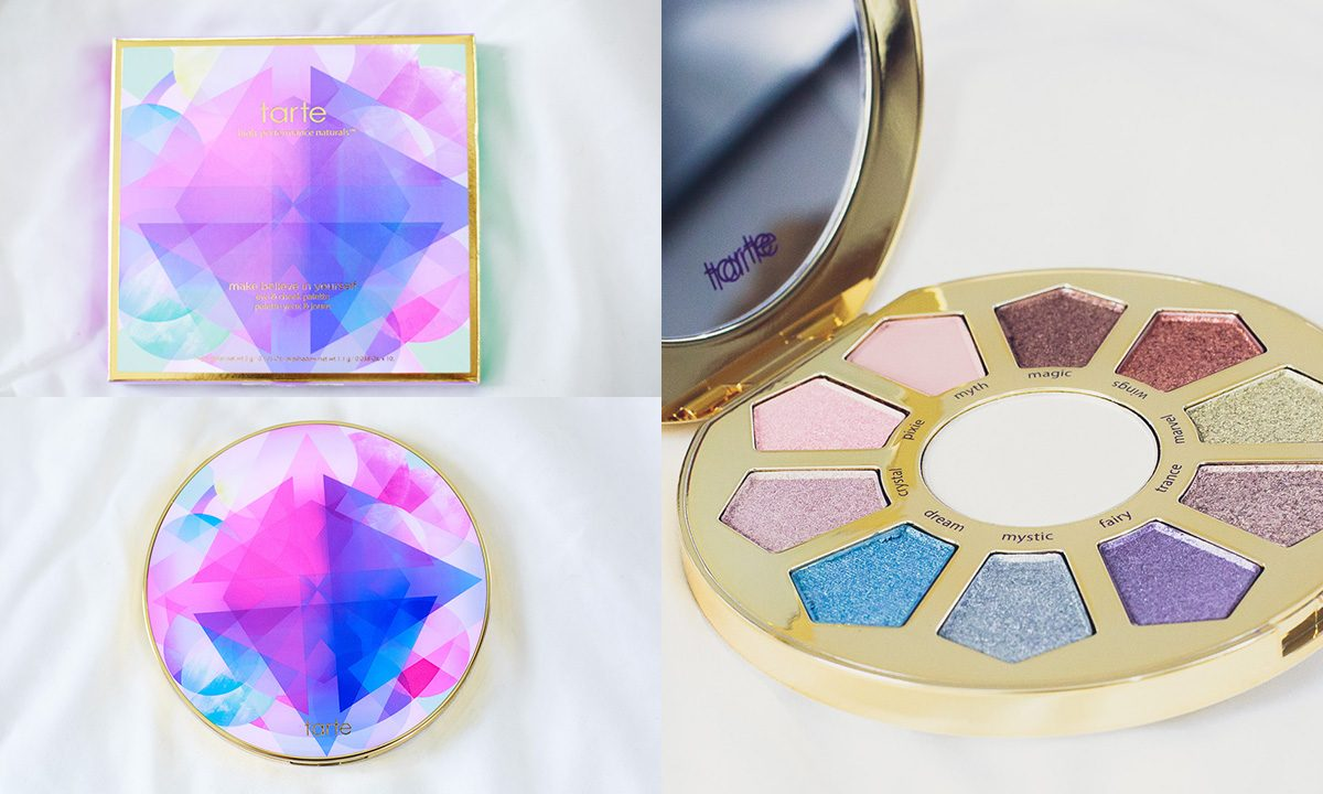 Tarte Make Believe in Yourself Eye and Cheek Pallet | Swatches + Review + First Impression