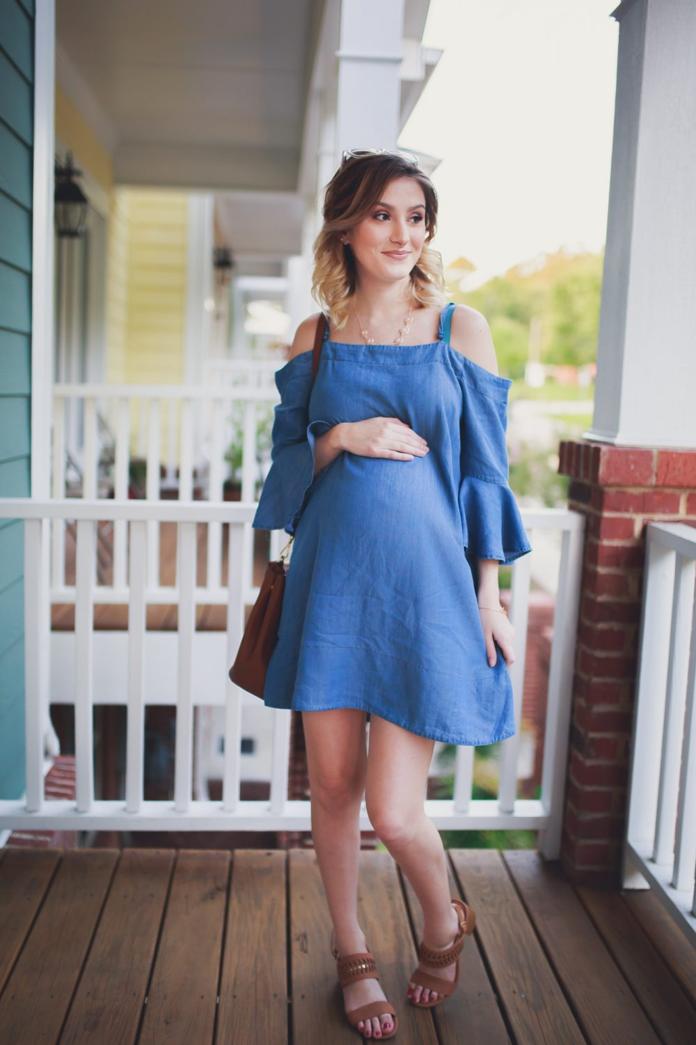 Chambray Bell Sleeves