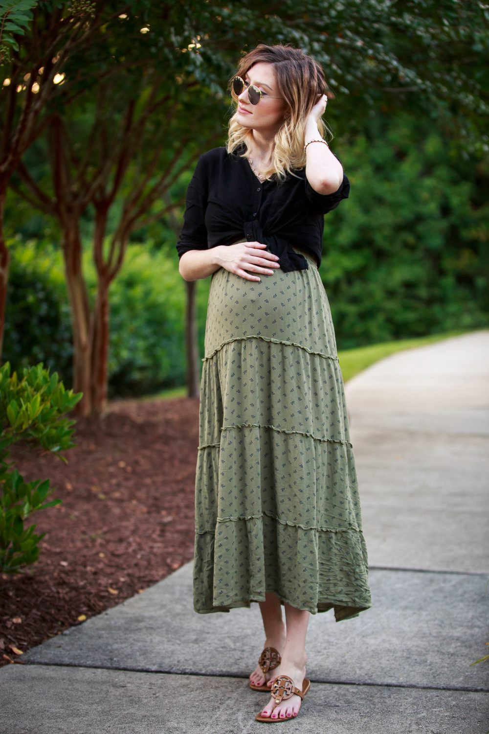 High-Waisted Maternity Style