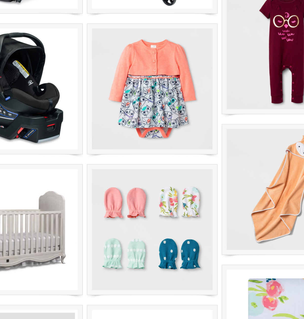 Cute inexpensive baby products by Jessica Linn | Linn Style