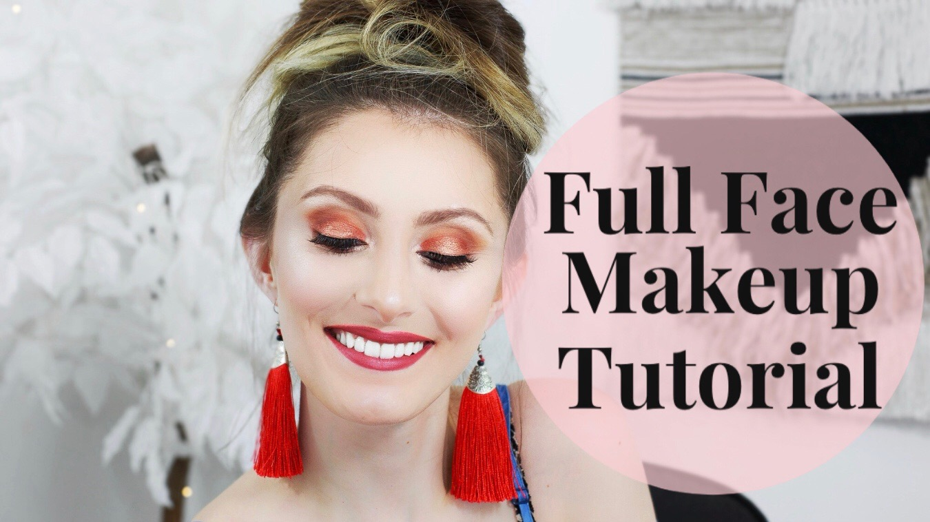 Easy Full Face Makeup Tutorial For Beginners | Mostly Drugstore by North Carolina fashion, beauty, and lifestyle blogger and Youtuber Jessica Linn from Linn Style.