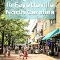 Vist Fayetteville North Carolina- The Best Things To Do in Fayetteville NC by popular North Carolina fashion and lifestyle blogger and youtuber Jessica Linn