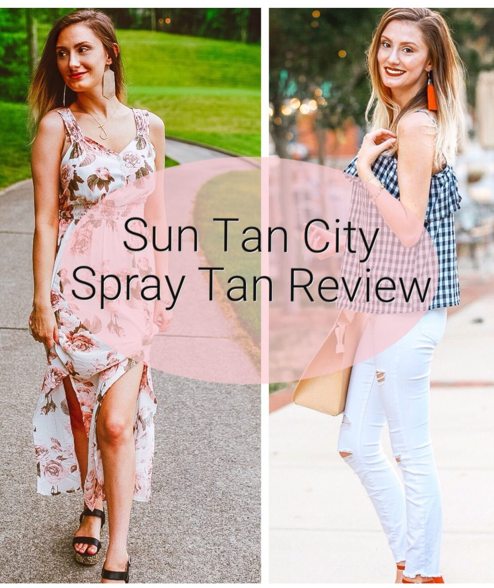 Sun Tan City Spray Tan | Review + First Impression