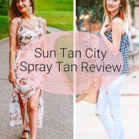 Sun Tan City Spray Tan Review | Lifestyle, fashion, and beauty blogger Jessica Linn reviewing Sun Tan City's Level 3 Spray Tan.