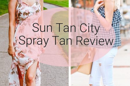 Sun Tan City Spray Tan Review | Lifestyle, fashion, and beauty blogger Jessica Linn reviewing Sun Tan City's Level 3 Spray Tan.
