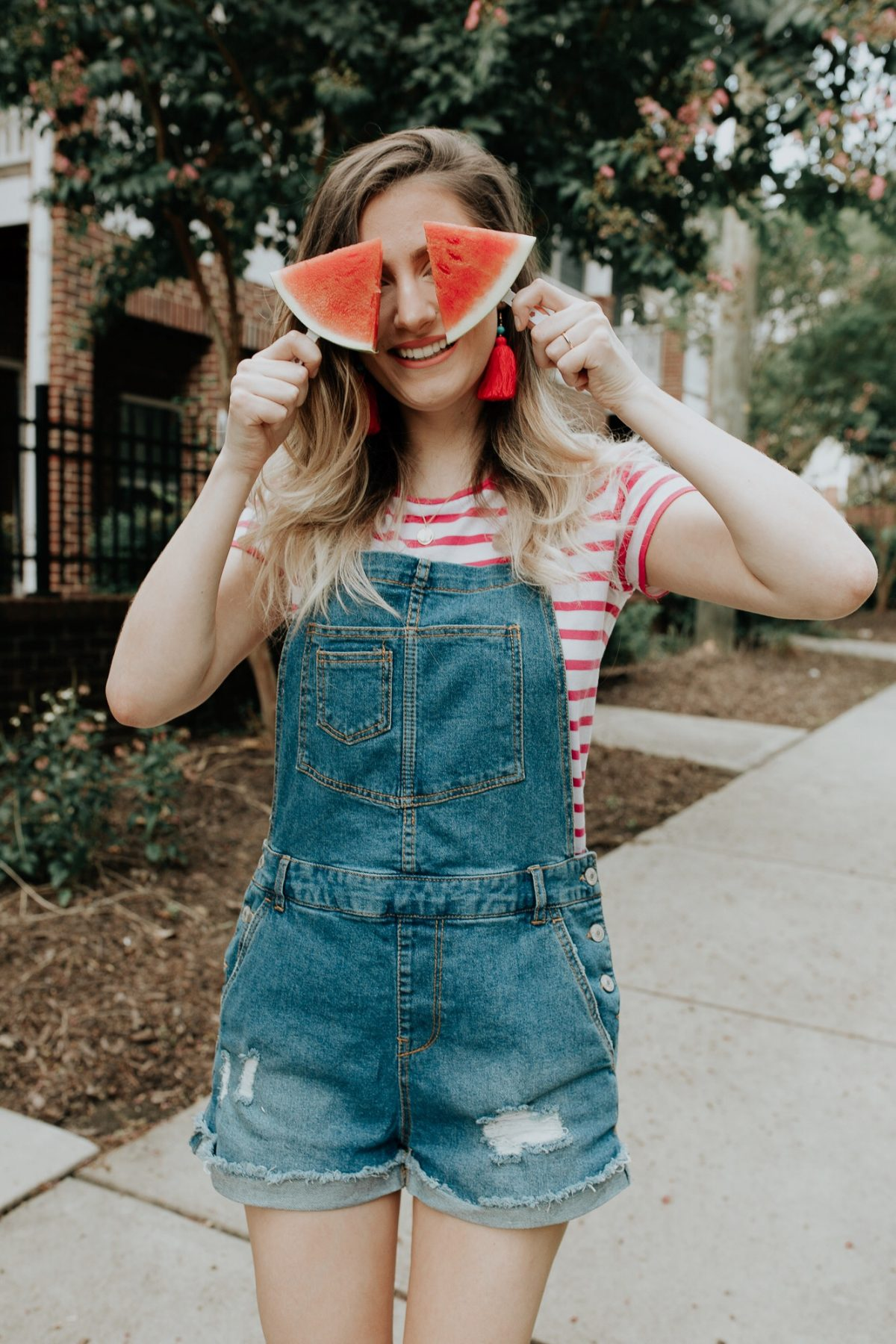 Watermelon recipes in celebration of National Watermelon Day by North Carolina fashion and lifestyle blogger Jessica Linn.