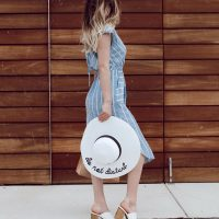 Casual Outfit Ideas | Casual Chic Dress. Casual chic outfit inspiration by North Carolina fashion and lifestyle blogger Jessica Linn.