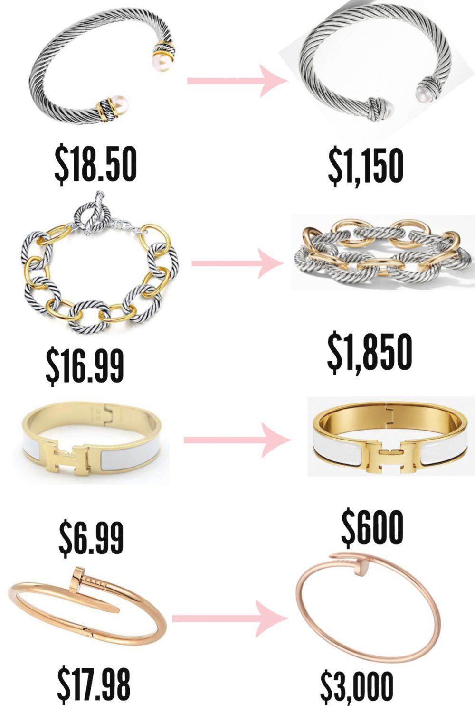 The Best Designer Jewelry Dupes On Amazon