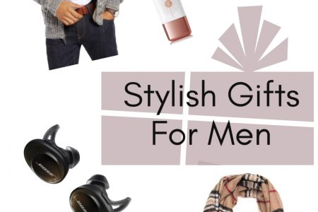 What to Get For Stylish Men | fashionable Gifts For Men Who like Fashion. Holiday gift guide by popular North Carolina fashion and lifestyle blogger Jessica Linn, from Linn Style.