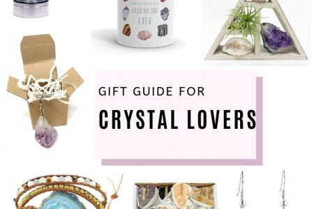 Gift Ideas For Crystal and Geode Lovers