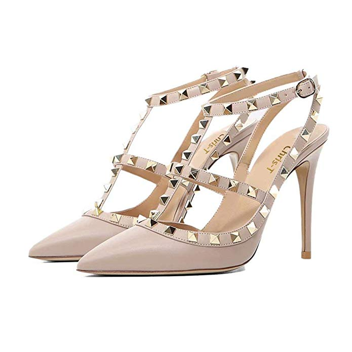 Valentino Rockstud Pump 100mm Dupe | Designer Dupes on Amazon by fashion blogger Jessica Linn