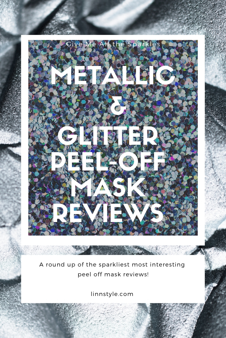 Interesting Glitter & Metallic Peel Off Mask Reviews