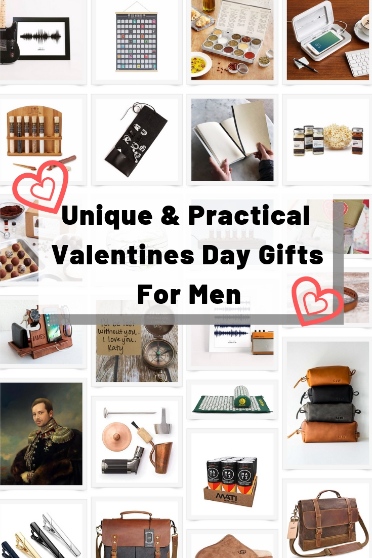 Unique & Practical Valentines Day Gifts For Men