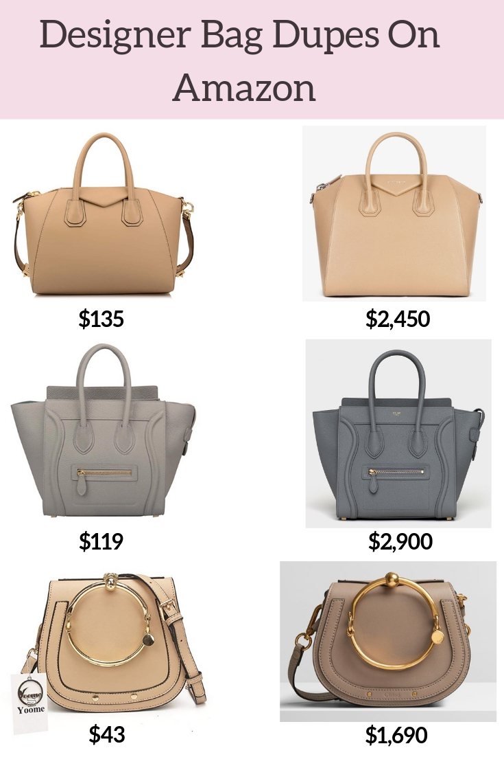 The Best Designer Bag Dupes On Amazon by blogger, Jessica Linn.