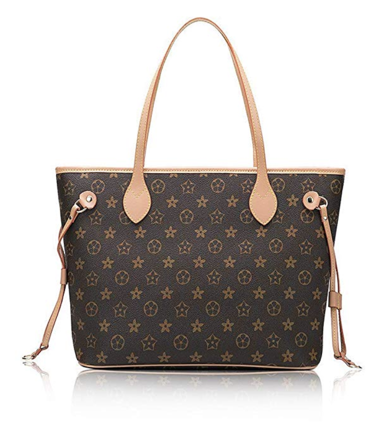 The Best Designer Bag Dupes On Amazon by blogger, Jessica Linn. Louis Vuitton Neverfull Dupe