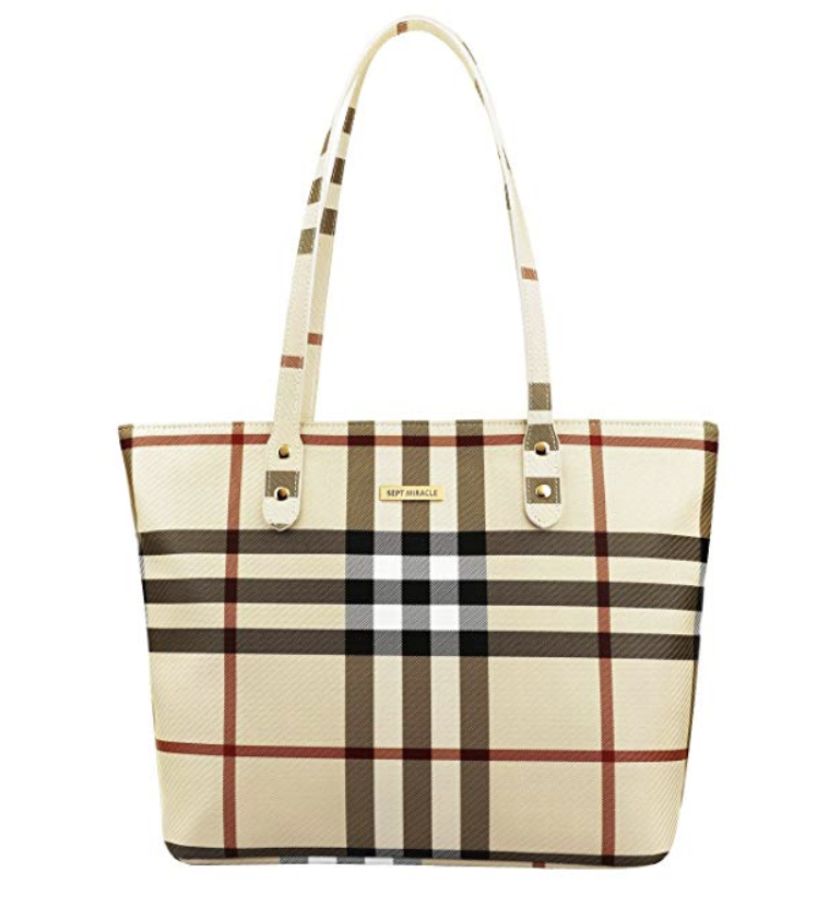 The Best Designer Bag Dupes On Amazon by blogger, Jessica Linn. Burberry Dupe