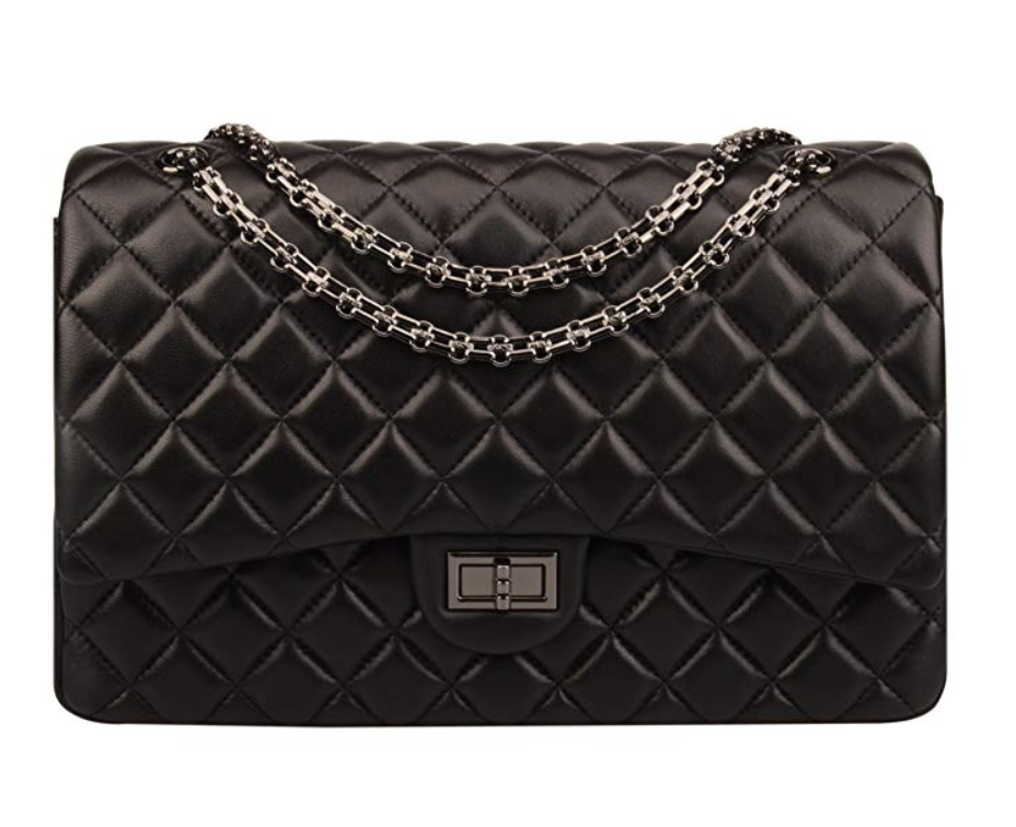 The Best Designer Bag Dupes On Amazon by blogger, Jessica Linn. Chanel Dupe