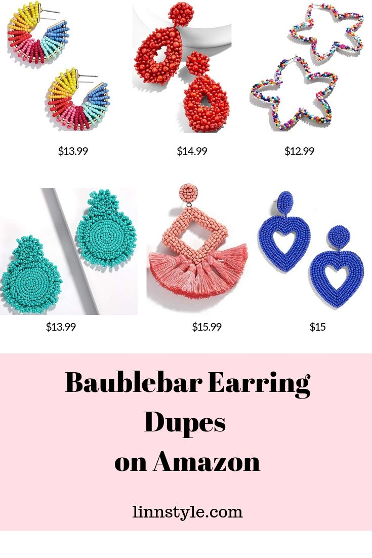 Baublebar Earring Dupes on Amazon
