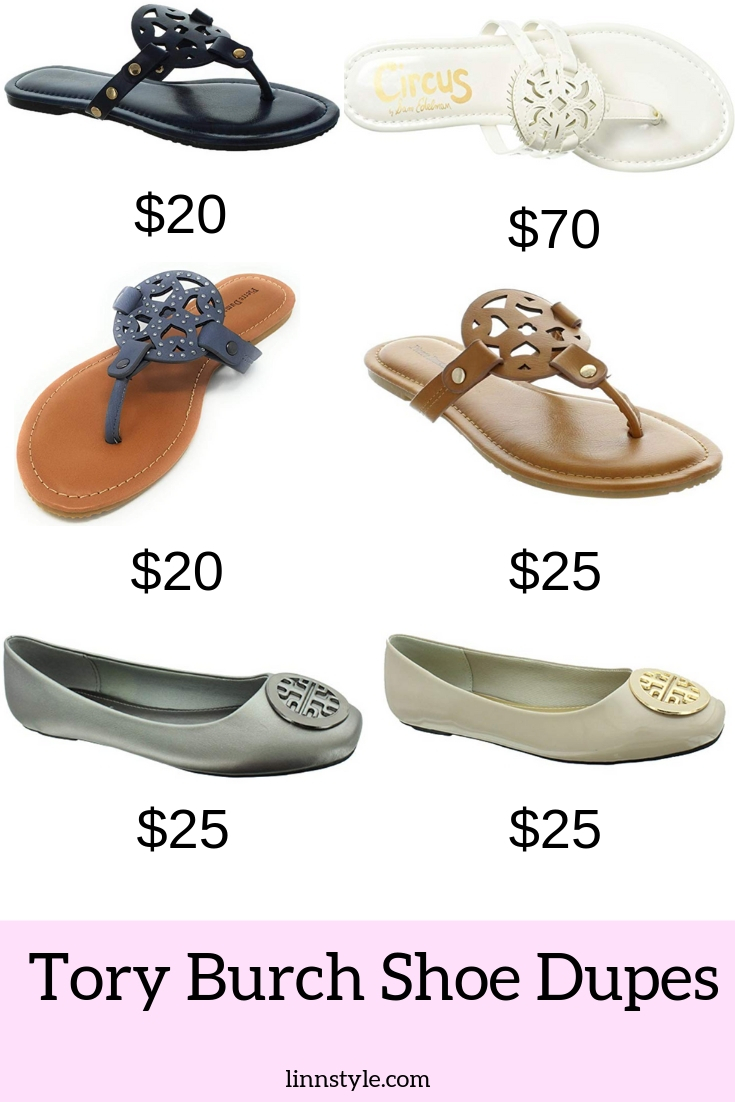 Tory Burch Shoe Dupes | Miller Sandal and Minnie Dupes