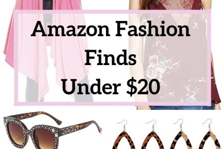 Amazon Fashion Finds Under $20