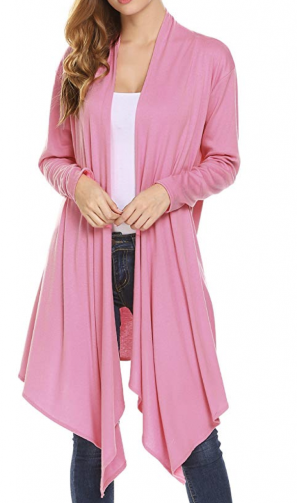 Amazon Fashion Finds | All $20 Or Less Cheap pink cardigan