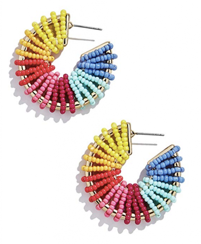 Giana Baublebar Earring Dupes on Amazon by North Carolina affordable fashion blogger Jessica Linn.