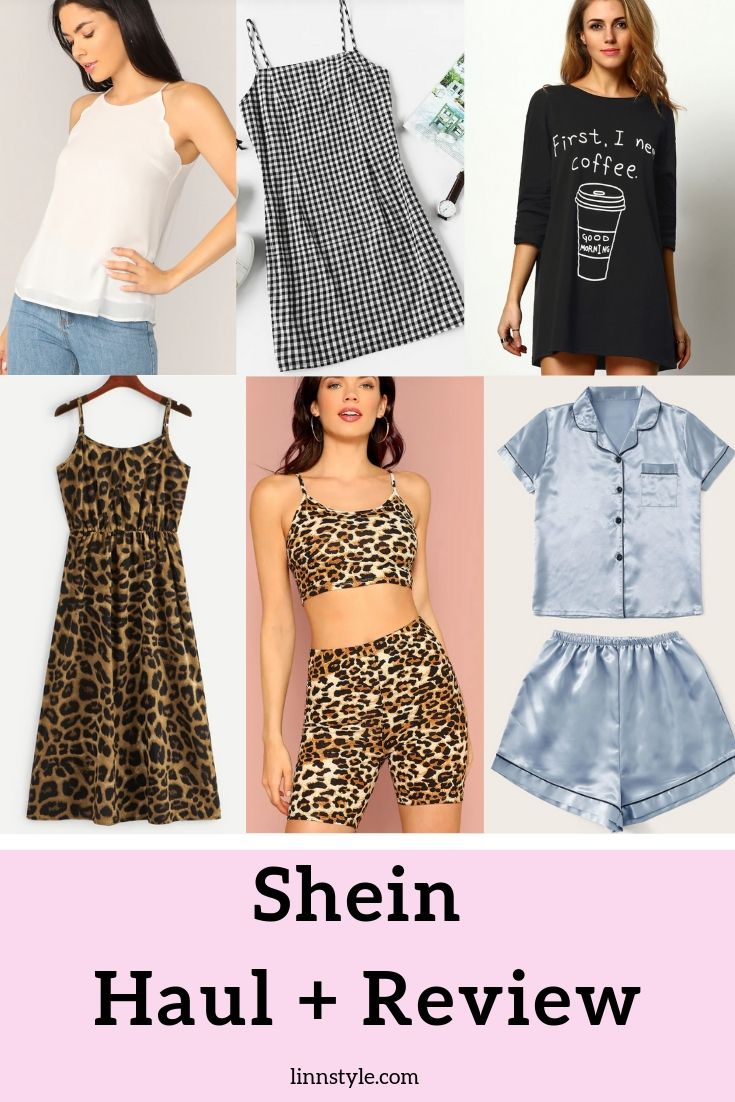 Shein Haul + Review | Affordable Clothing Haul and Review by North Carolina fashion blogger and Youtuber, Jessica Linn