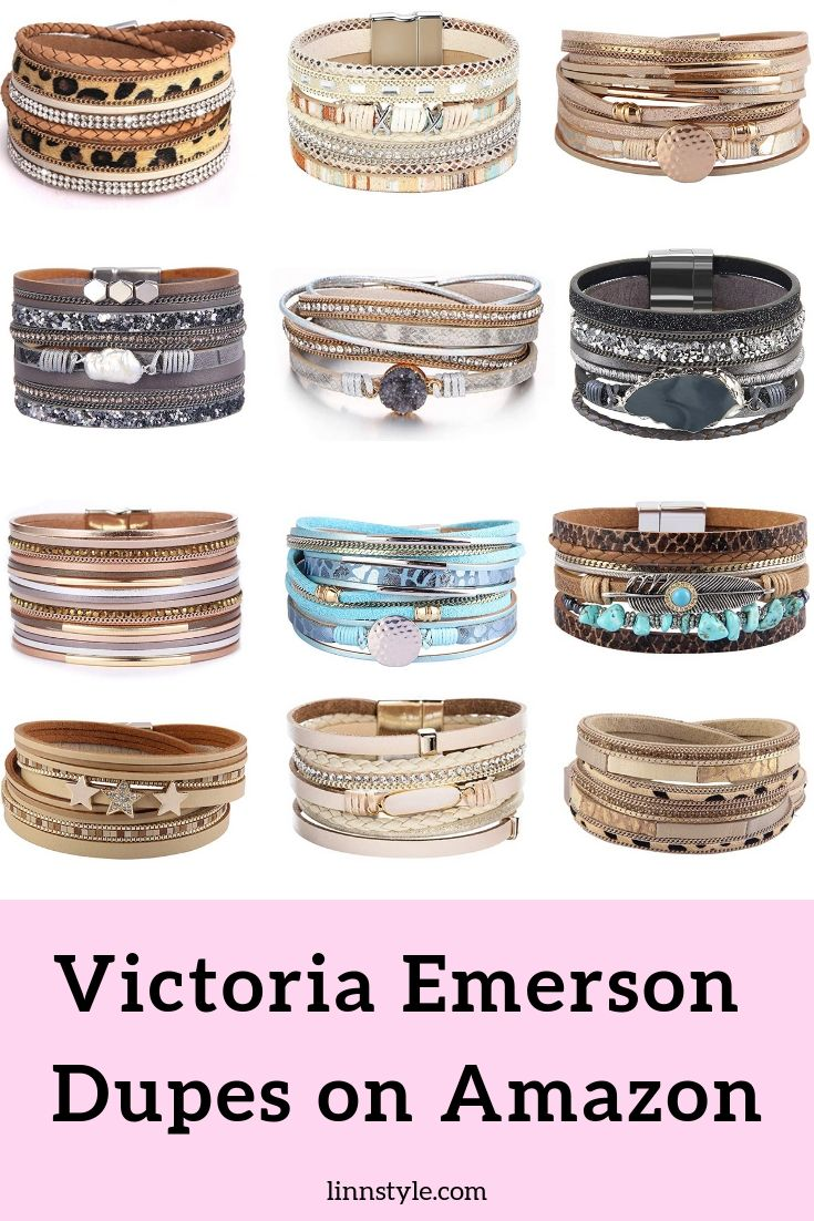 Victoria Emerson Bracelet Dupes on Amazon