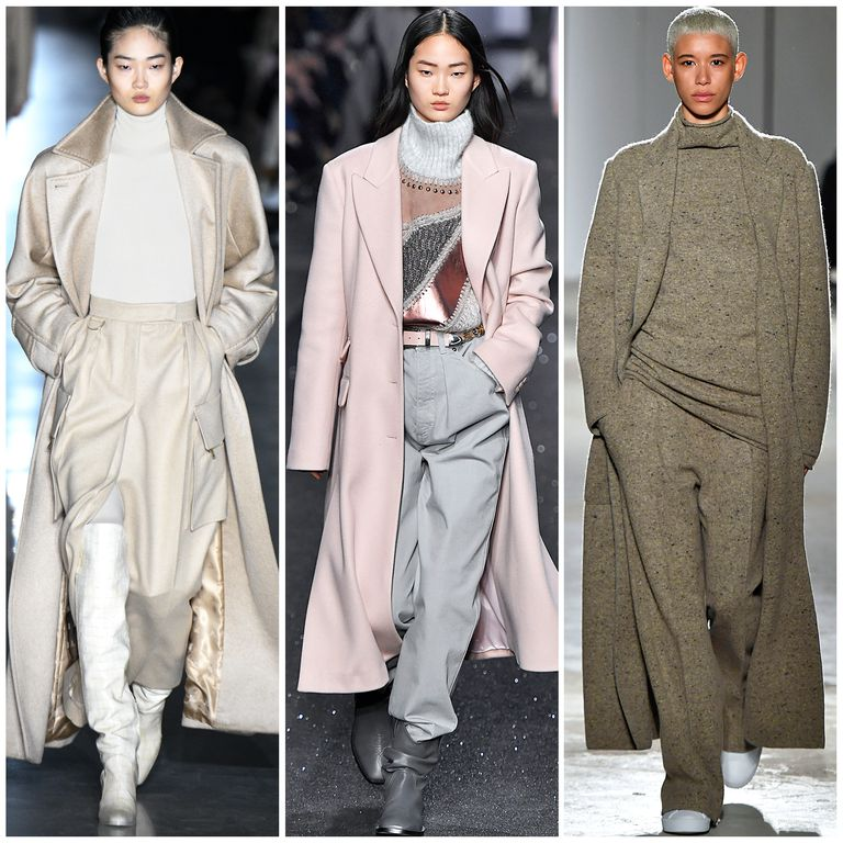 The Best Fall 2019 Fashion Trends Left to Right: Max Mara, Alberta Ferretti, Agnona