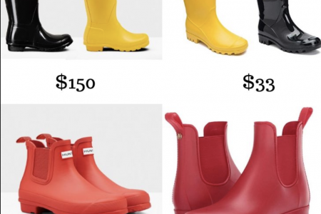 Hunter Rain Boots Alternatives