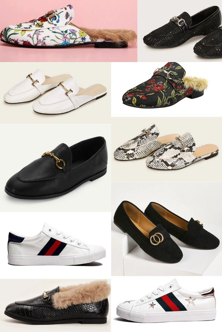Gucci Shoe Alteratives | Designer Alteratives by Linn Style