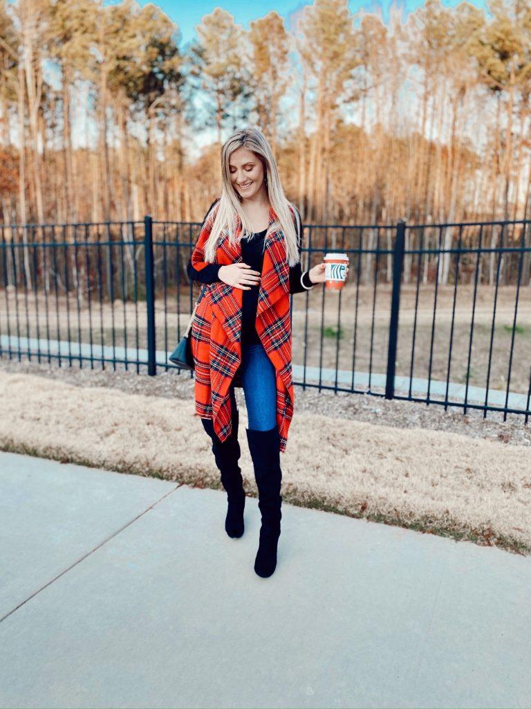 Winter Maternity Fashion Tips by Jessica Linn | Linn Style