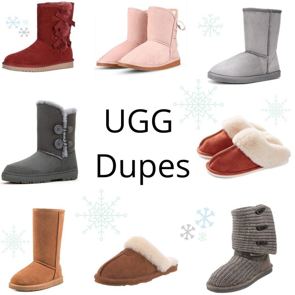 UGG boot and slipper Dupes by Linn Style