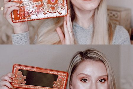 Too Faced Gingerbread Extra Spicy Eyeshadow Palette Review by Jessica Linn.