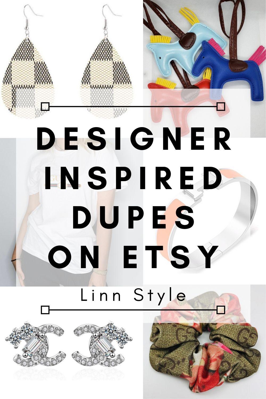 Designer Inspired Dupes on Etsy | Linn Style by Jessica Linn