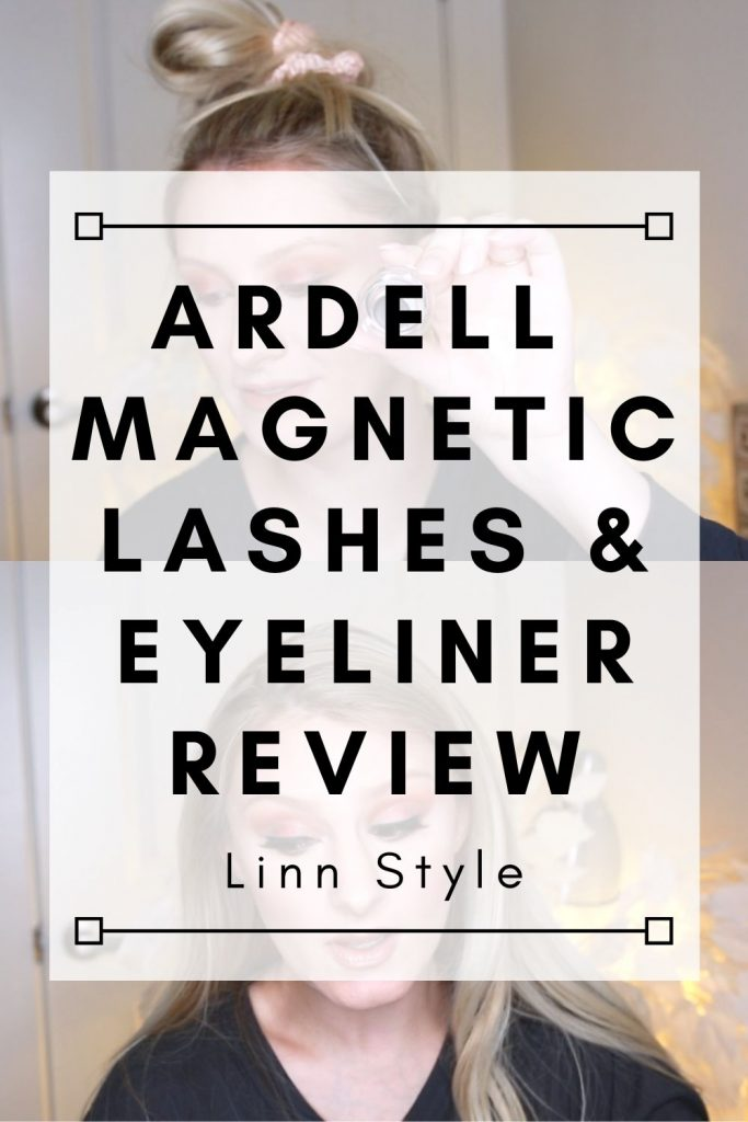 Ardell Magnetic Lashes & Eyeliner Review by fashion and beauty blogger Jessica Linn.