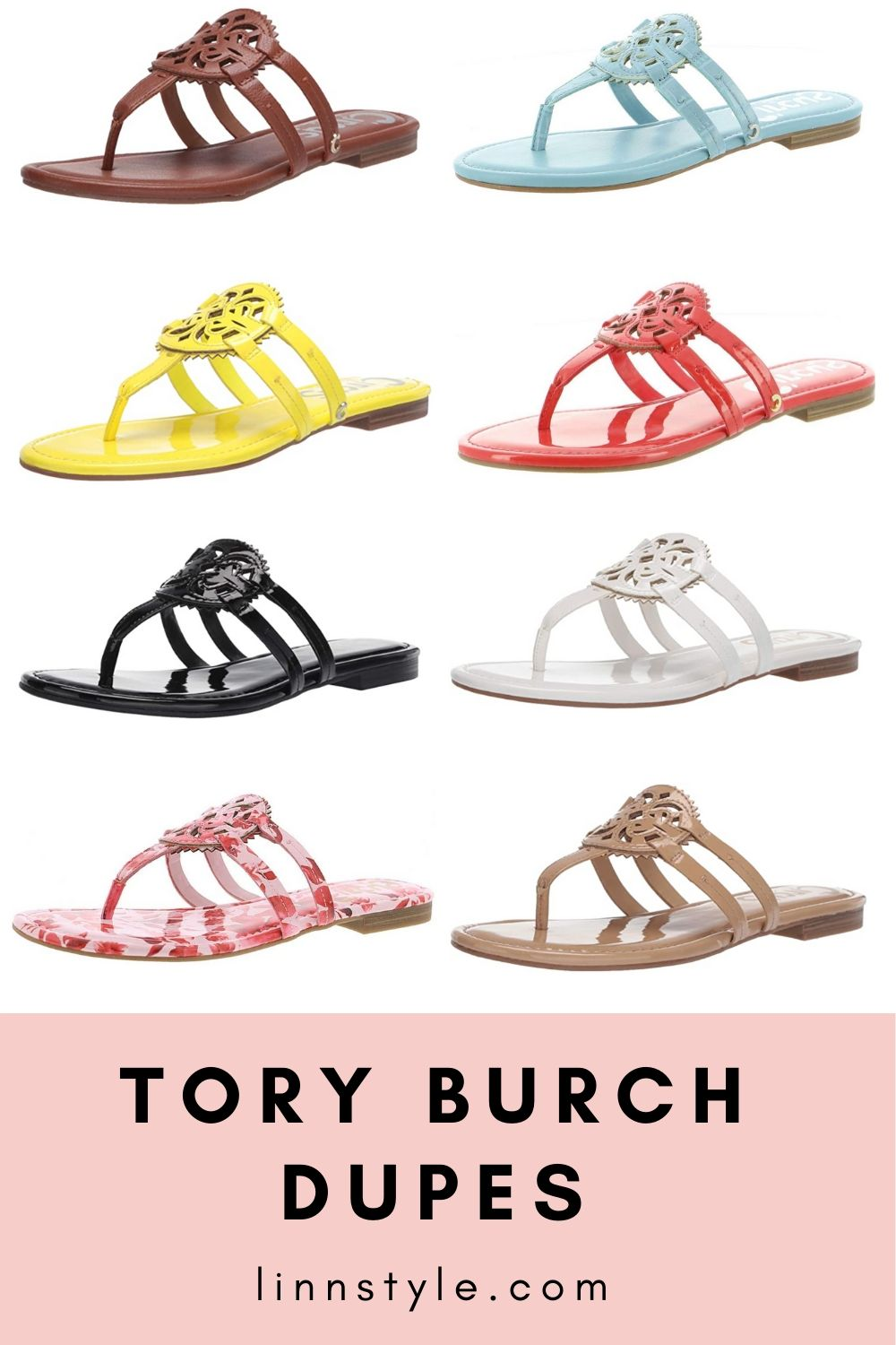 Tory Burch Miller Sandal Dupes on Amazon | Linn Style by Jessica Linn