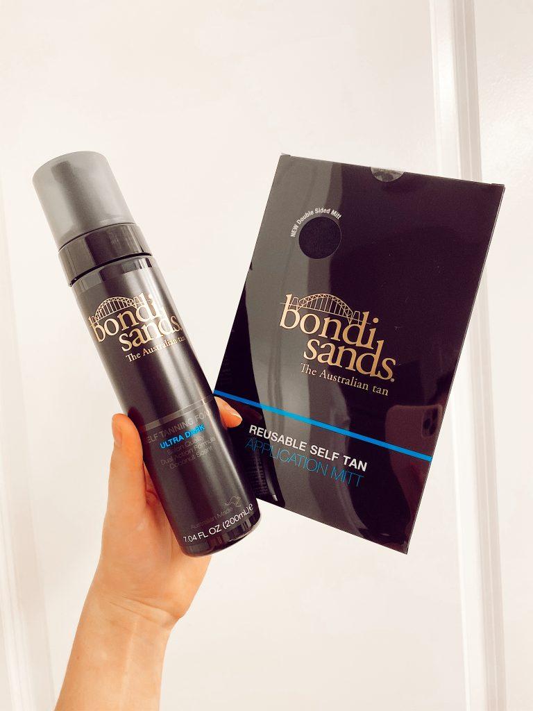 Bondi Sands Self Tanning Foam & Mitt Review | Linn Style by Jessica Linn